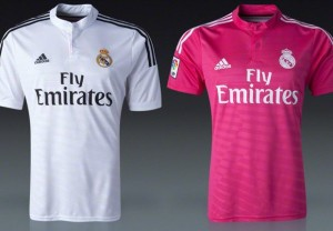 camiseta real madrid lila